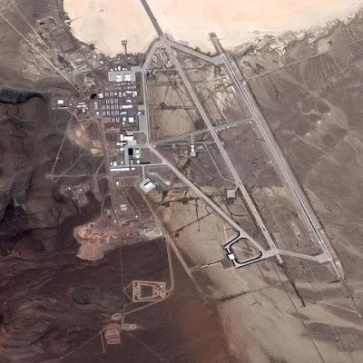 Area 51: Il sito si trova a 55 miglia di distanza a nord-est della zona 51