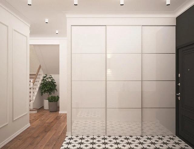 armadio a muro-stile moderno-arredamento