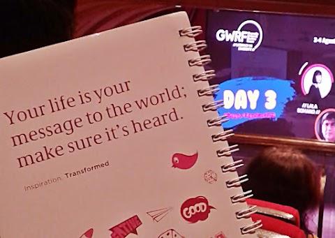 GWRF2019 Day 3 : Always about Literature