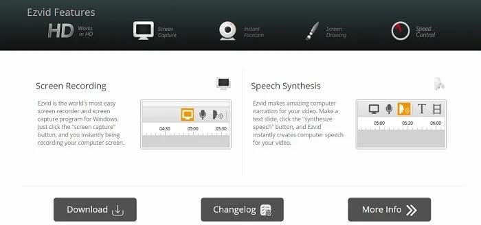 Ezvid - Camtasia Alternatives Screen Recorders