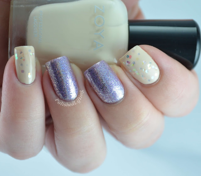 Zoya Monet Jacqueline I Love Nail Polish Happily Ever After