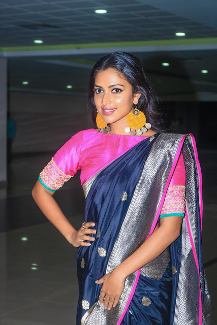 Amala Paul at Bhaskar Oru Rascal Tamil Movie Audio Lauuch Stills