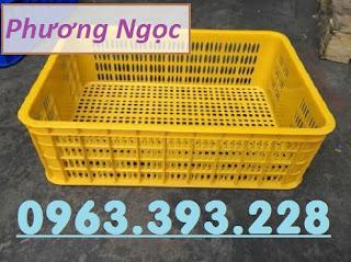 Sọt nhựa đựng nông sản, sóng nhựa rỗng HS009, sọt cao 19, sọt nhựa nguyên sinh 7889ca44ca8630d86997