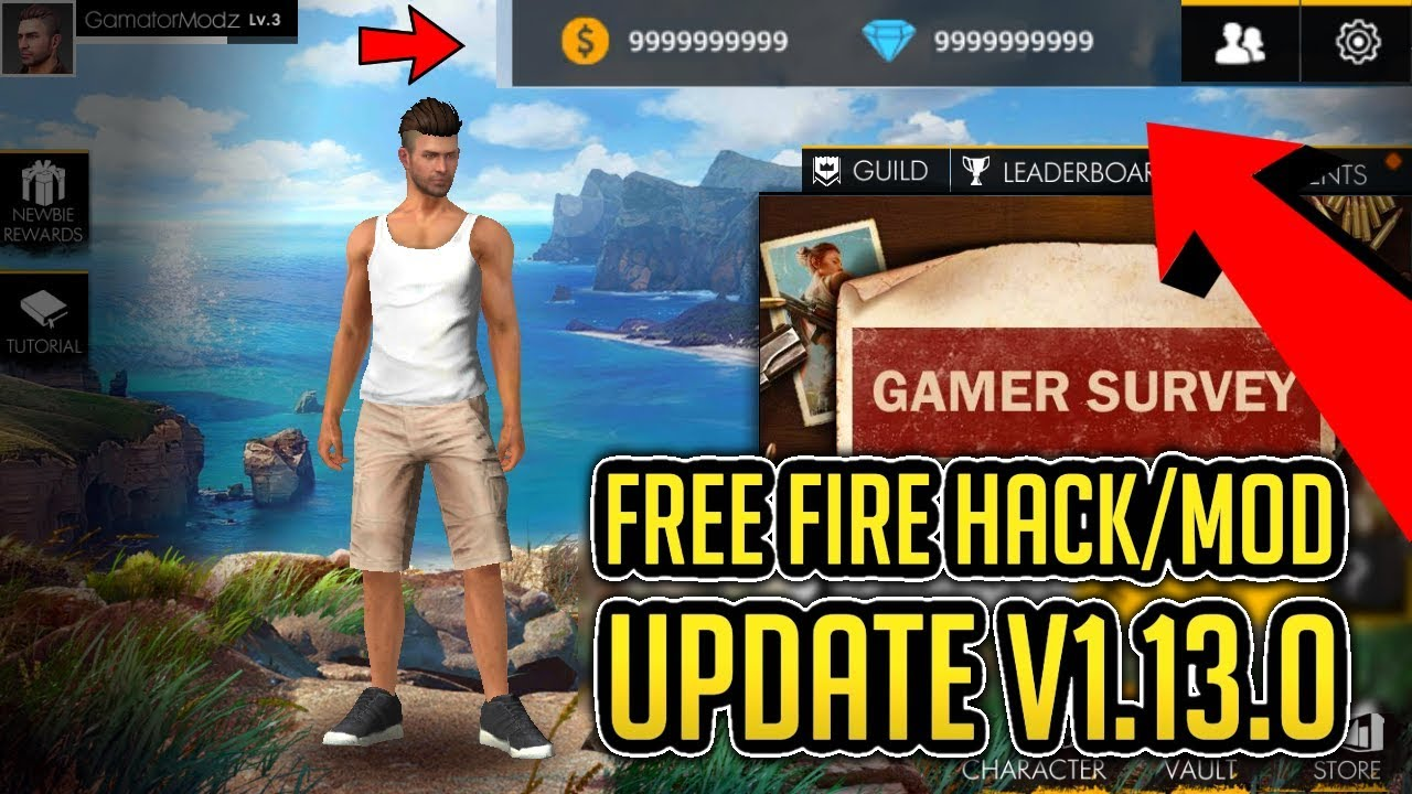 free fire unlimited health and ammo mod apk download