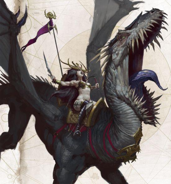 Thomas Elliott artstation deviantart arte ilustrações fantasia terror sombrio games