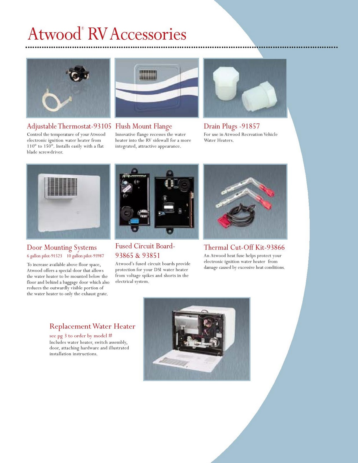medium resolution of atwood water heater brochure