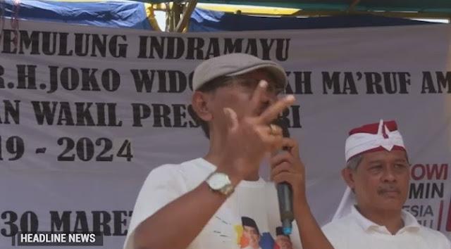 Ratusan Pemulung Pantura Deklarasi Dukung Jokowi