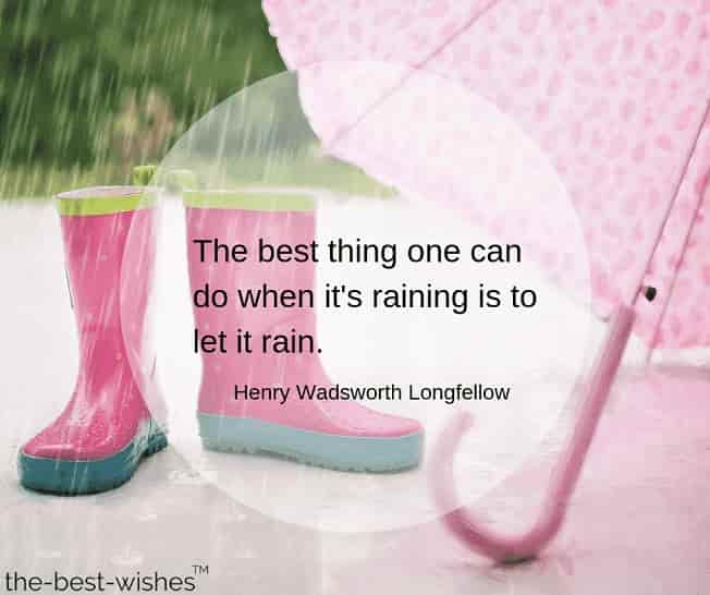 good morning rainy day quotes by henry wadsworth longfellow