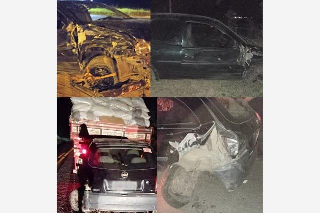 BR-030: Acidente envolvendo três veículos é registrado no Sudoeste da Bahia