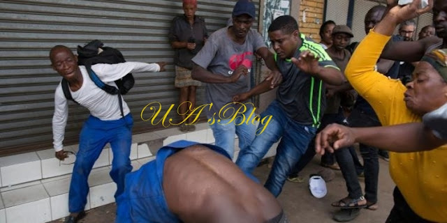 BREAKING: Fresh attacks on Nigerians in South Africa