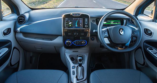 41kWh Renault Zoe interior