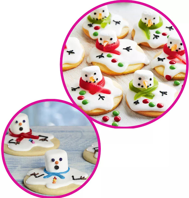 Great snowman cookies for holiday parties or winter's treats for a school, Church or family gathering. Allow the fun of a snowman to enter into the world of goodies.