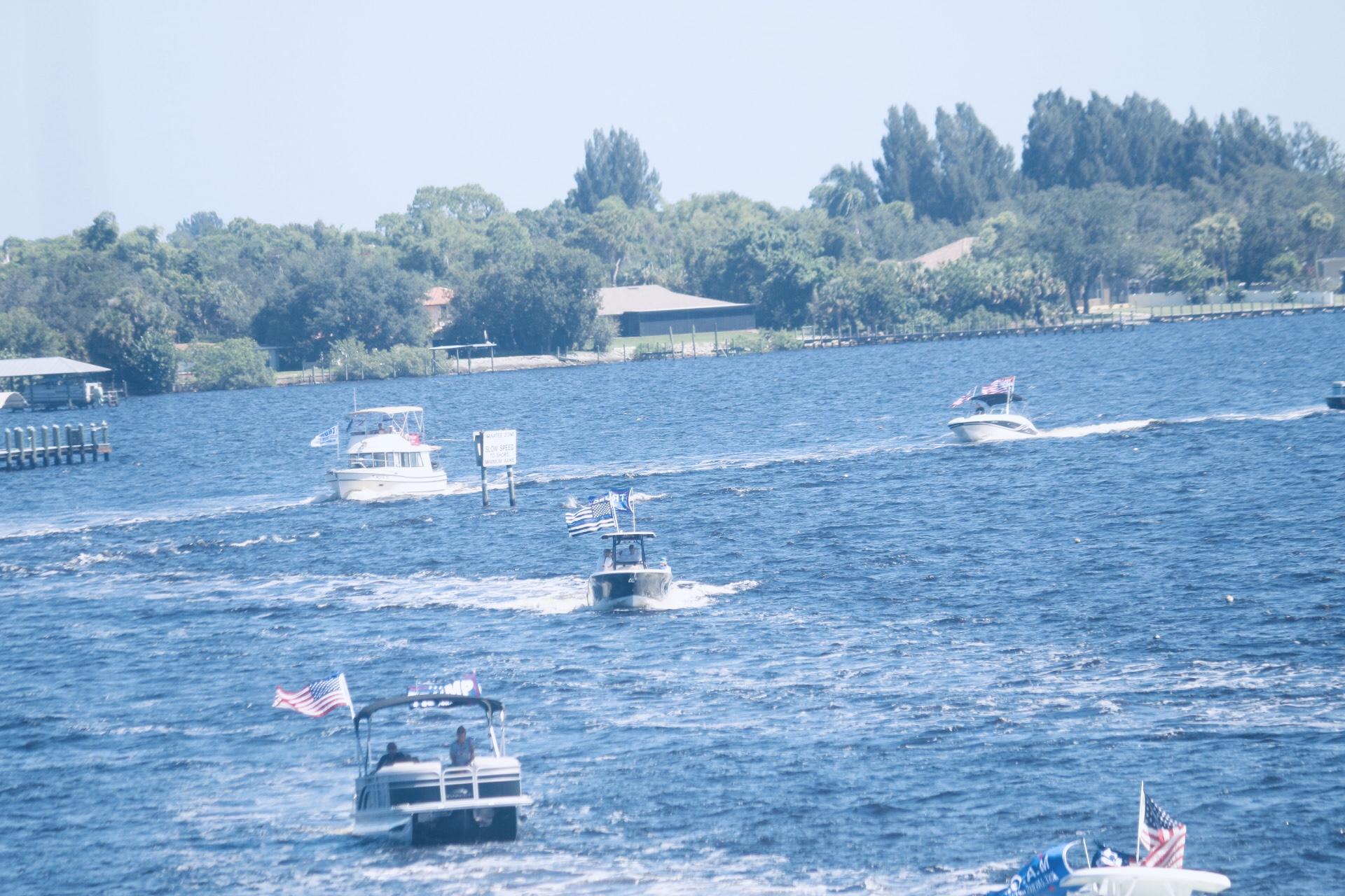 Punta Gorda Christmas Boat Parade 2020 Punta Gorda Florida Daily Photo: Trump Boat Parade on the Peace River