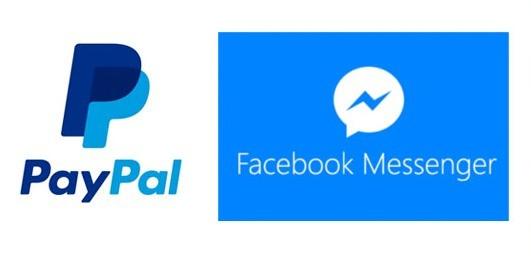 Facebook Messanger permette di inviare denaro direttamente tramite Paypal.