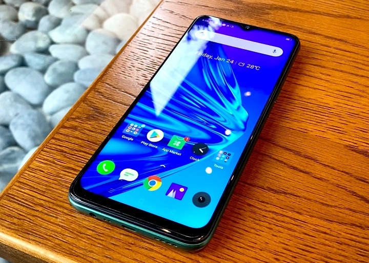 Realme 5i Review Design