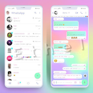 Colors Theme For YOWhatsApp & MN WhatsApp By Ethel