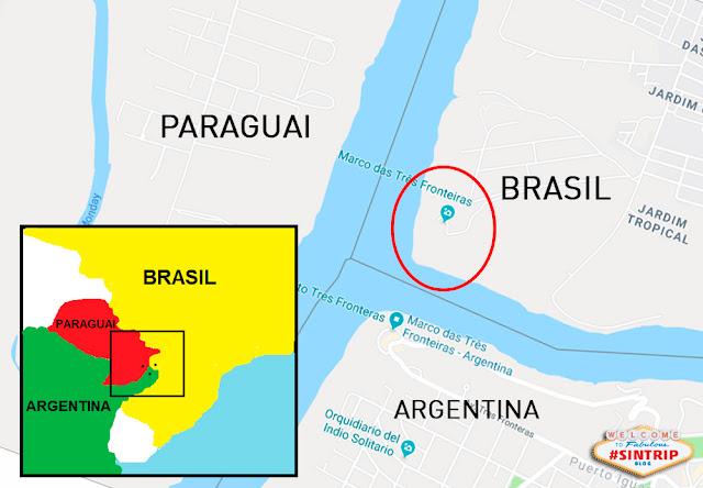 Dia 1: Foz do Iguaçu (Paraná) - Chegada e Marco das Três Fronteiras