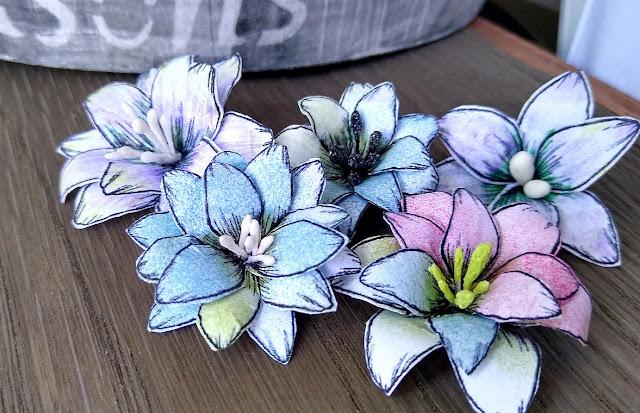 kwiatki z papieru kurs