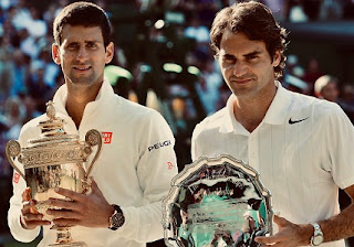 Federer defeats Nadal, face in 12th Wimbledon final against Djokovic.