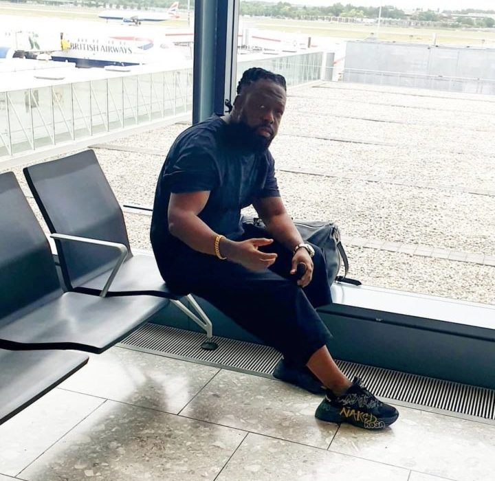 Timaya Jets Off To America To Charge His Phone