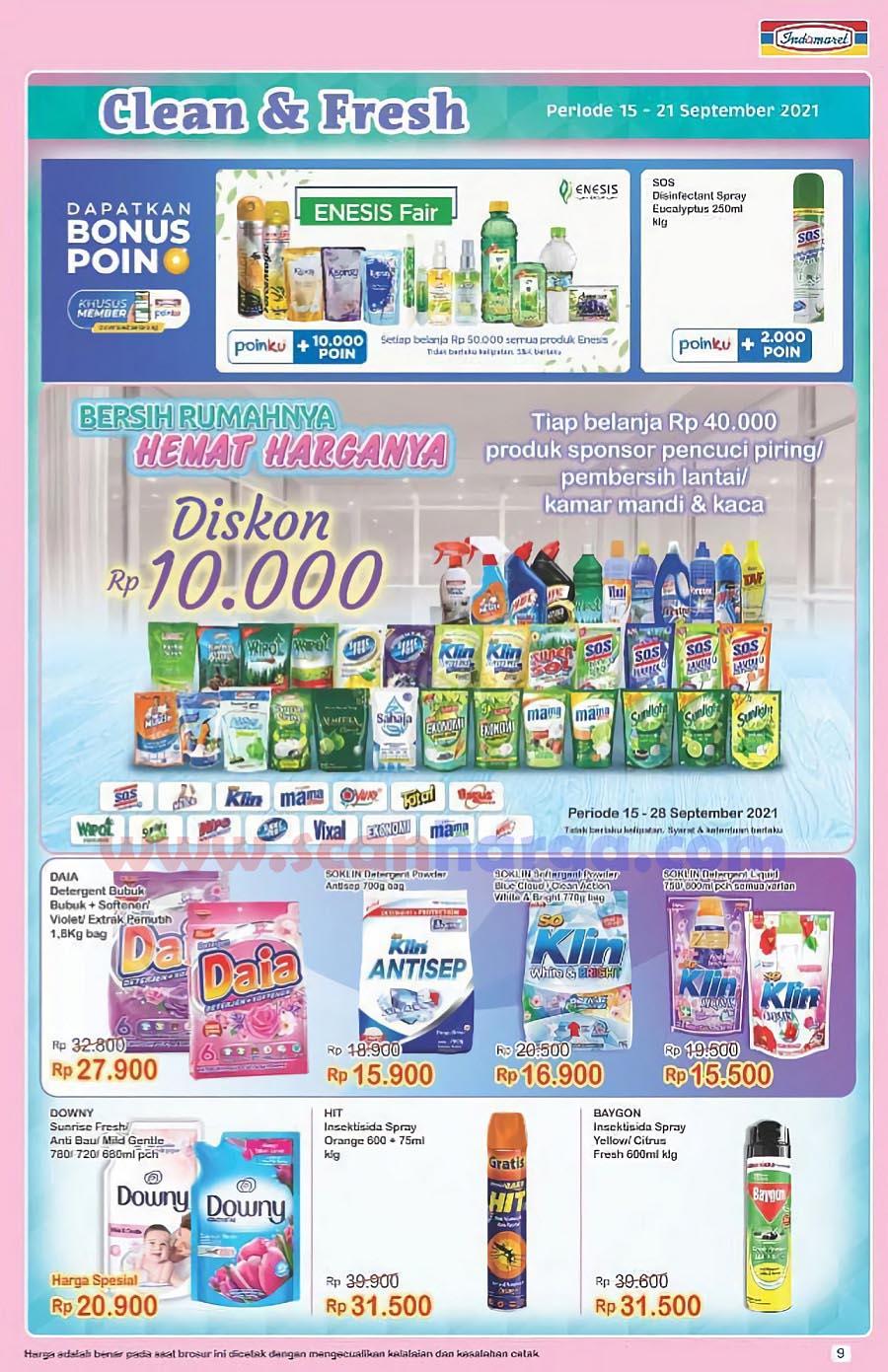 Katalog Indomaret Promo Terbaru 15 - 21 September 2021 9