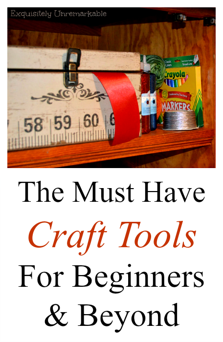 The Must Have Craft Tools List