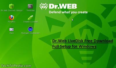 Dr.Web LiveDisk Free Download Full Setup for Windows