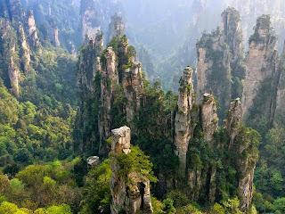 Resultado de imagem para Zhangjiajie imagens pontos turisticos