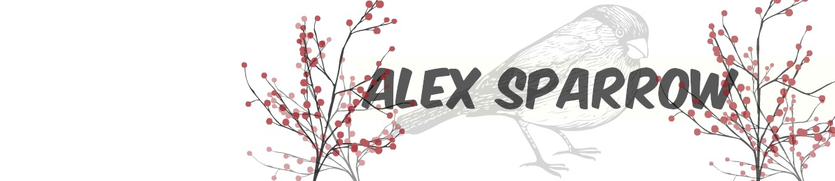 Alex Sparrow's blog