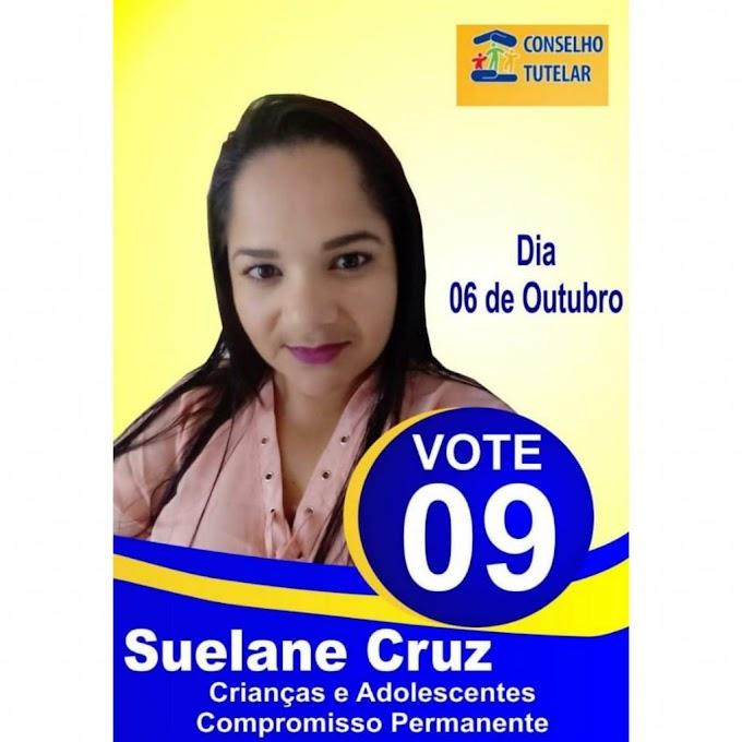 Suelane Cruz busca sua reeleição para o Conselho Tutelar de Vertente do Lério, e diz amar o que faz em prol das famílias