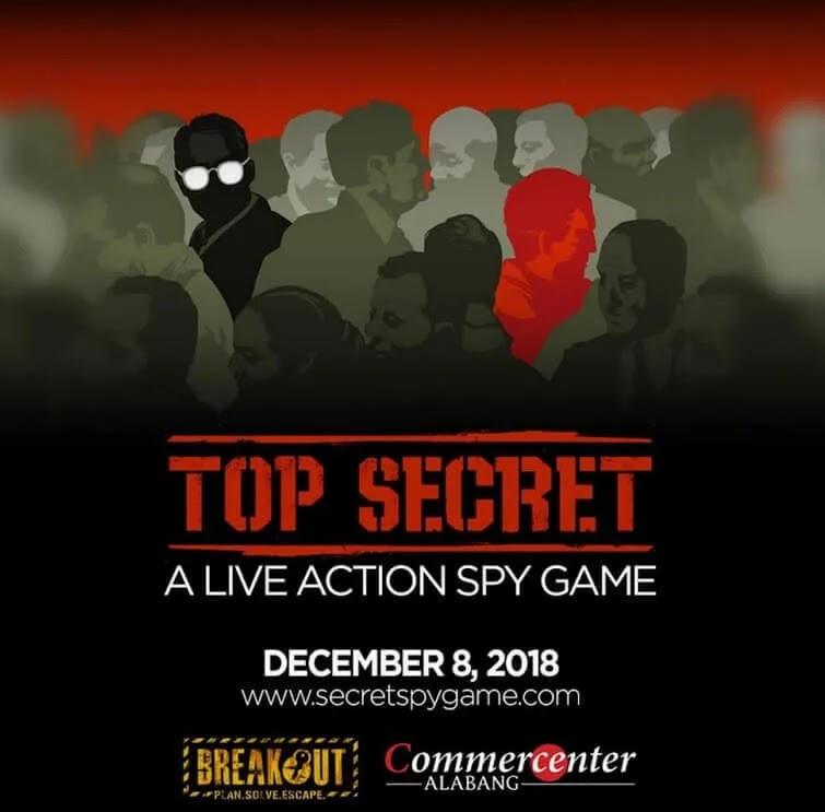 Be a Spy at Commecenter Alabang
