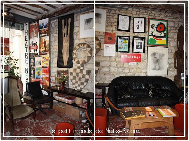 Décoration théâtre Nesle Paris