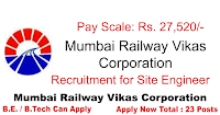 Mumbai Railway Vikas Corporation Recruitment 2015