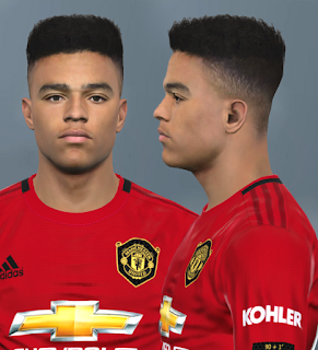PES 2017 Faces Mason Greenwood by Alief