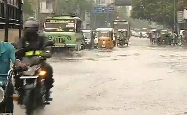 TYPHOON ALERT FOR TAMIL NADU, ANDHRA PRADESH IN NEXT 48 HOURS - WEATHER REPORT FOR NEXT ONE WEEK IN SOUTHERN STATES IN INDIA