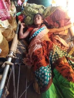Tribal woman beaten Sondo in Rajura taluka Chandrapur
