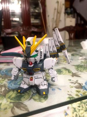 G Generation-F SD BB Senshi RX-93 Nu Gundam G Generation-F SD BB Senshi RX-93 Nu Gundam Assembled