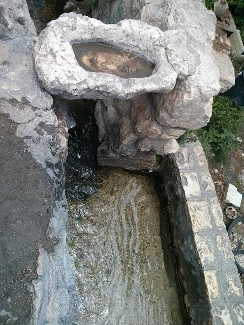 תעלת הניקוז  בית המקדש