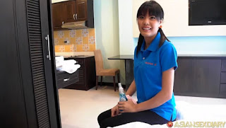 Nun Xang Cleaning Lady Wow
