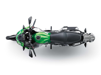 2017 Kawasaki Versys-X 300 Top view Photo