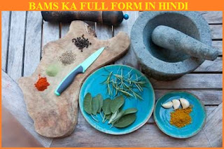 bams full form in hindi,bams ka full form