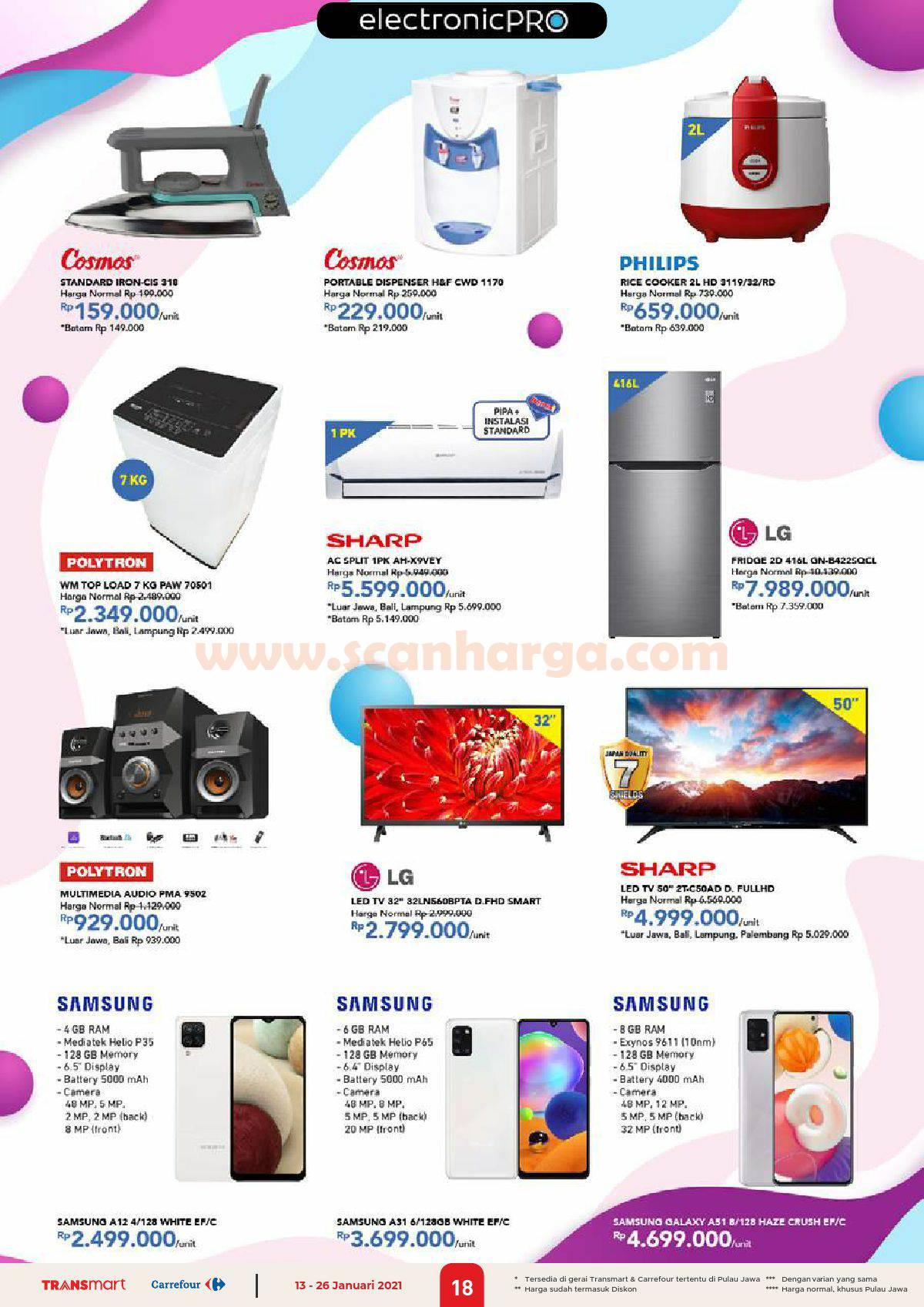 Katalog Promo Carrefour Transmart 13 - 26 Januari 2021 18