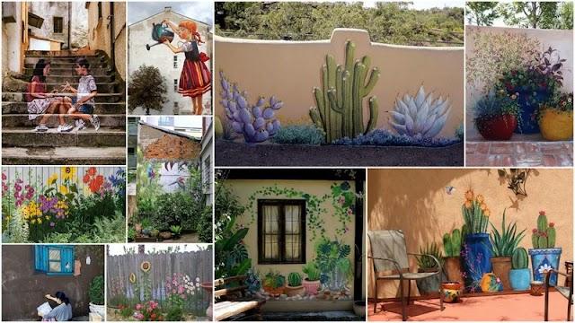 Ζωγραφική σε Τοίχους Κτιρίων - Εξωτερικών χώρων