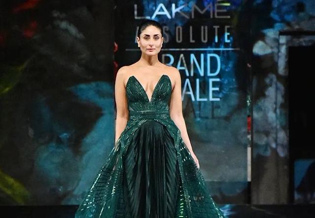 Lakme Fashion Week 2020: Kareena in a bright green gown at  Fashion Week, see PICS