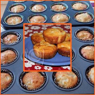 Kókuszos-ananászos muffin