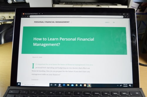 Financial Management article on a website
