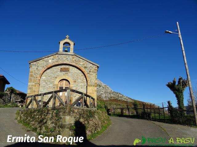 Ermita de San Roque en Pen, Amieva
