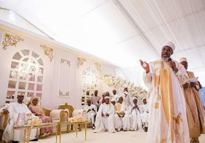 Photos from Ogun Governor's daughter and Abike Dabiri's son's wedding