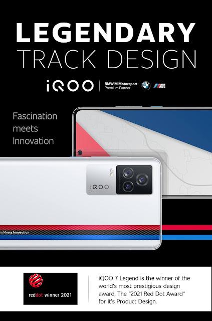 Features of iQOO 7 Legend 5G