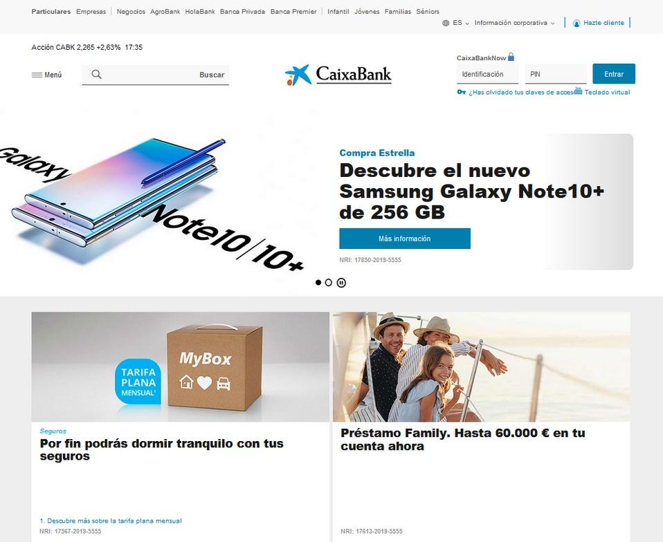 Caixa bookmakers